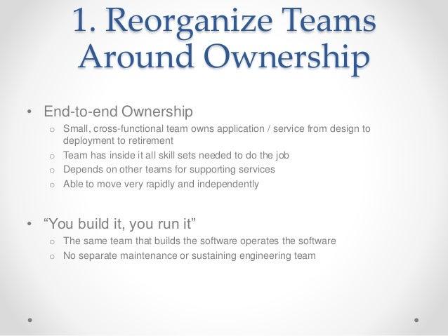 Ten Lessons of the DevOps Transition Slide 2