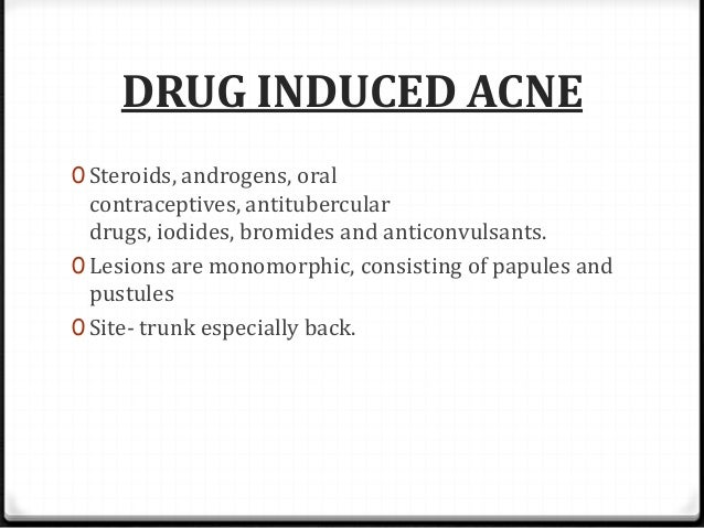 Acne Folliculitis Face Women