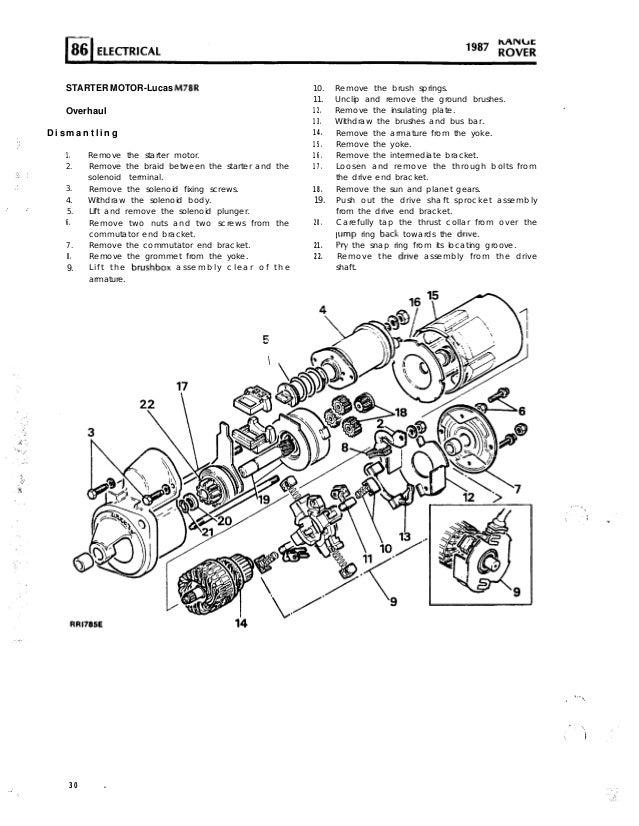 Range rover-maunual-electrics