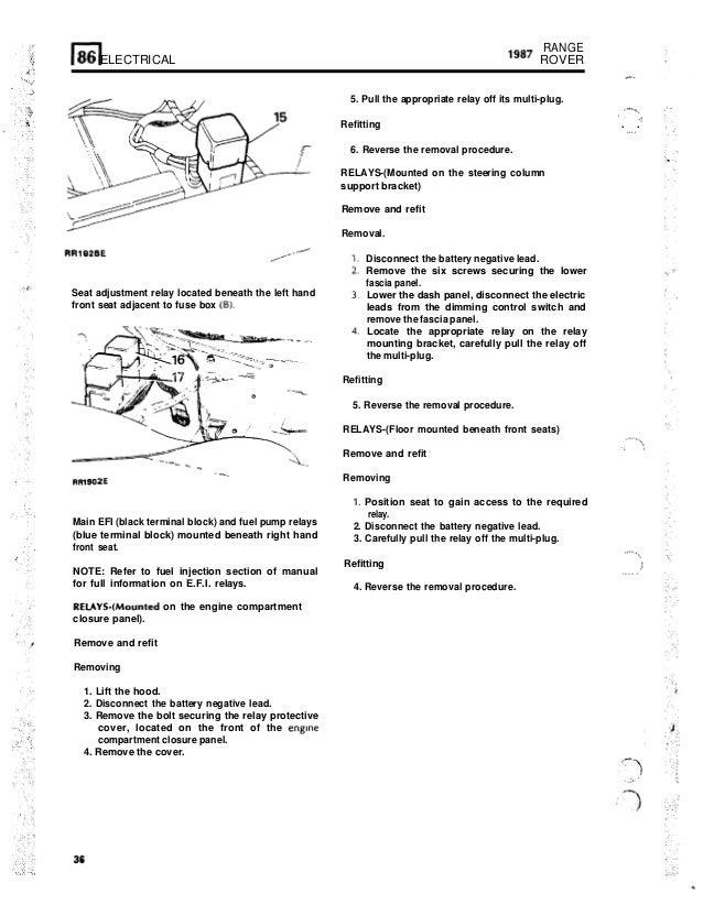 range rovermaunualelectrics 36 638?cb=1422377473 range rover maunual electrics range rover p38 fuse box under seat at couponss.co