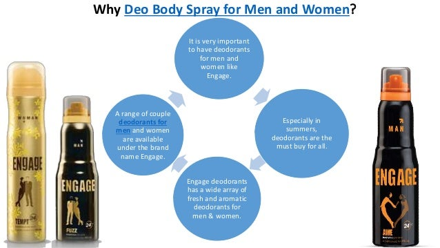 Why Deo Body Spray for Men and Women? It is very important to have deodorants for men and women like Engage. Especially in...