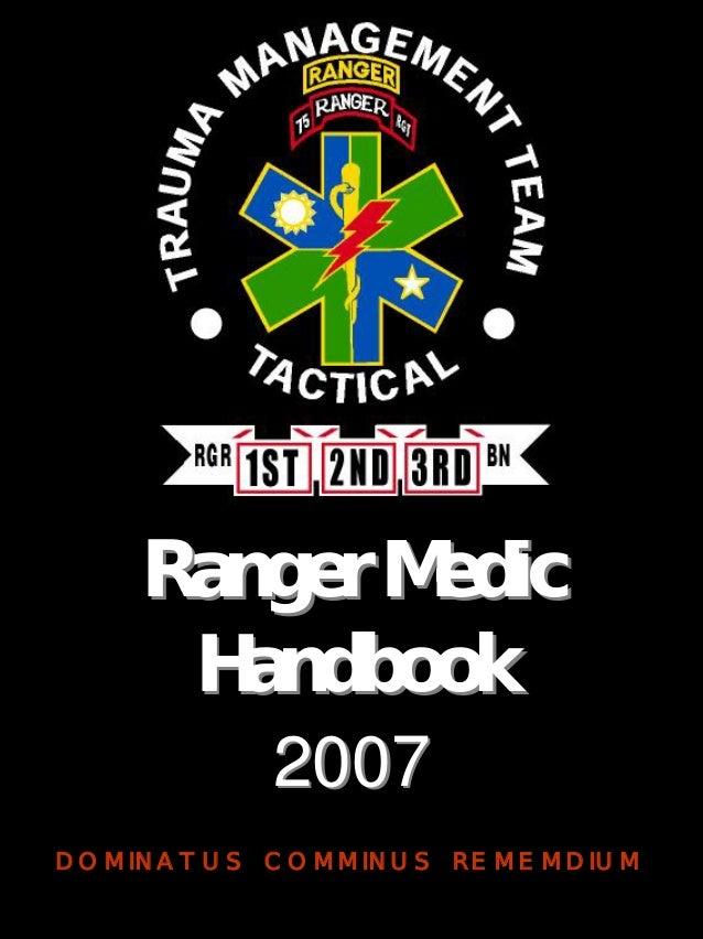 Ranger Medic Handbook Pdf