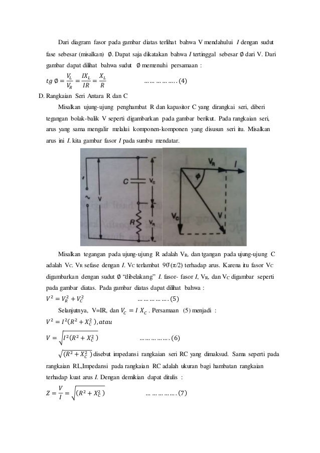 Materi rangkaian arus bolak fisika sma 3 4 dari diagram fasor ccuart Gallery