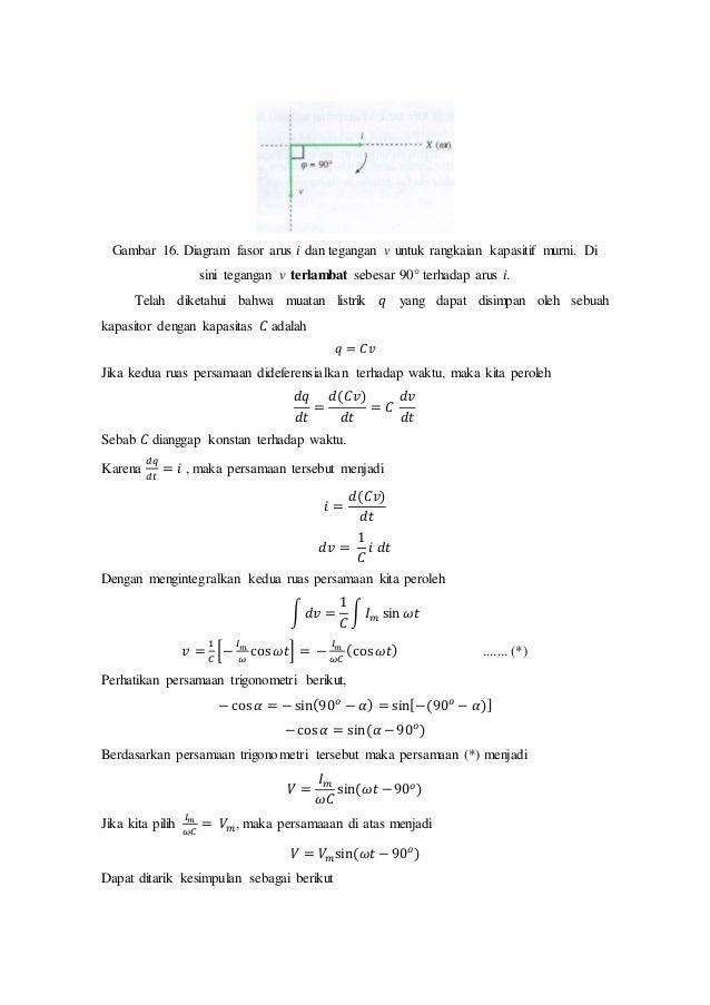 Materi kelas xii rangkaian arus bolak balik 17 gambar 16 diagram fasor ccuart Choice Image