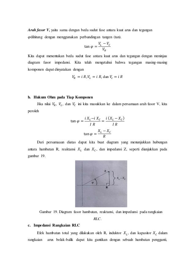 Rangkaian arus bolak balik fisika sma 24 arah fasor ccuart Gallery