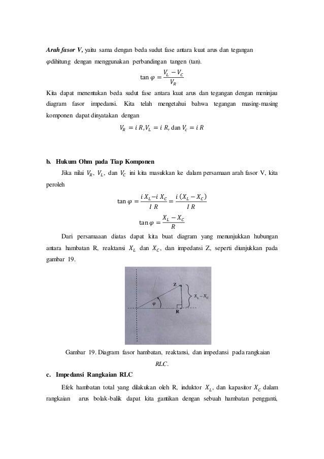 Rangkaian arus bolak balik fisika sma 24 arah fasor ccuart Image collections