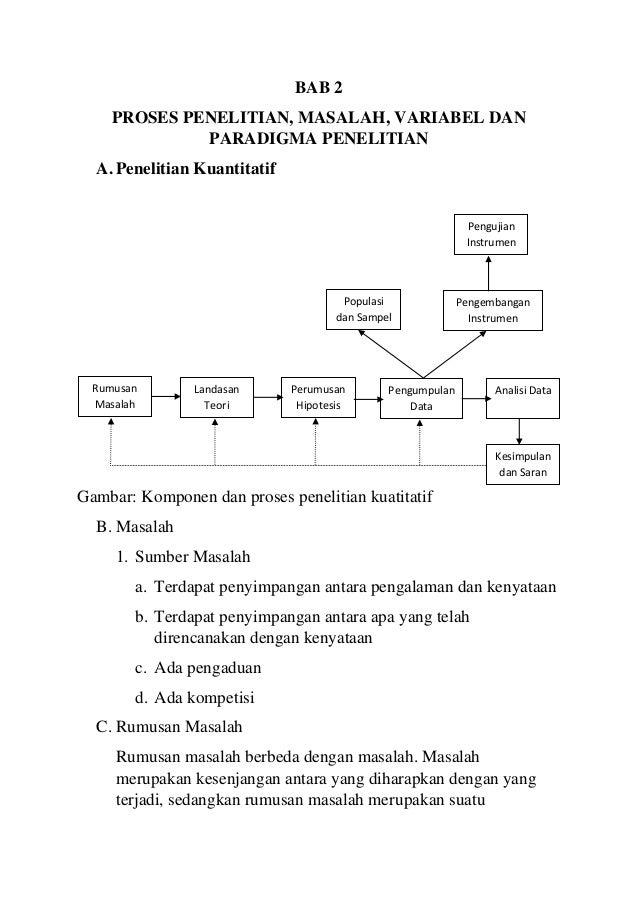 Rangkuman Bab 2 3 Dan 12 Metode Penelitian Pendidikan Karya Prof D