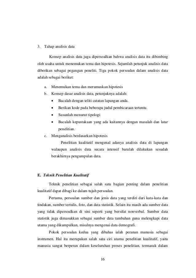 Rangkuman Lima Buku Penelitian Kualitatif