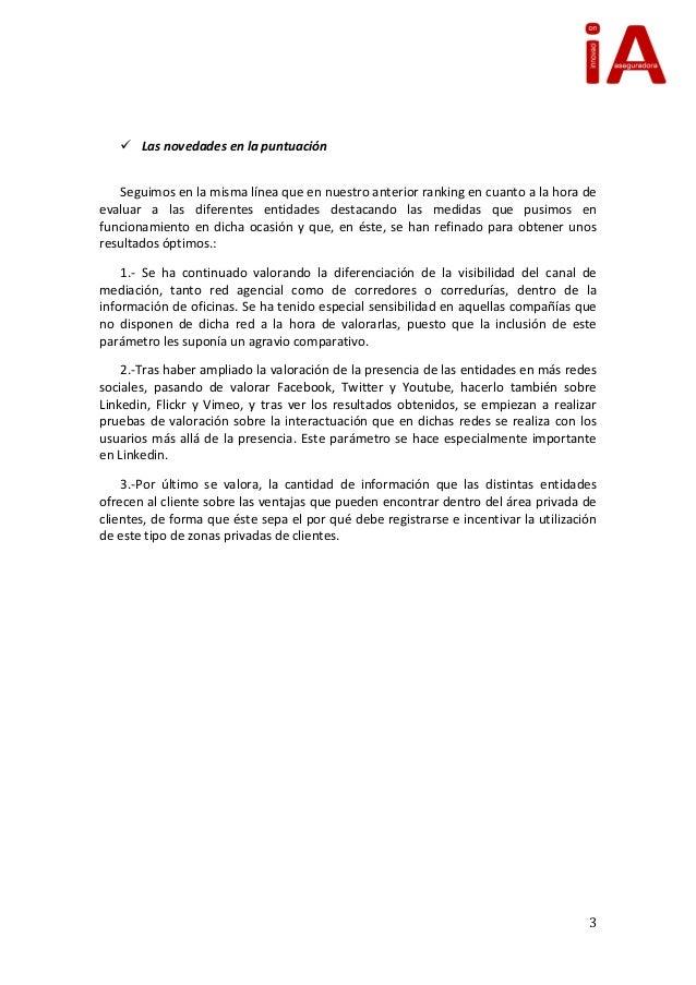 Ranking asegurador presencia internet diciembre 2012 for Fenix directo oficinas
