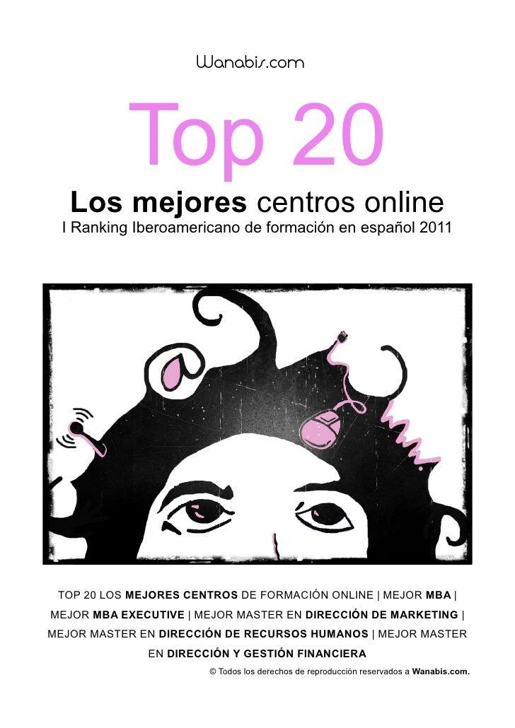 Ranking centros online wanabis 4404f211c3e95
