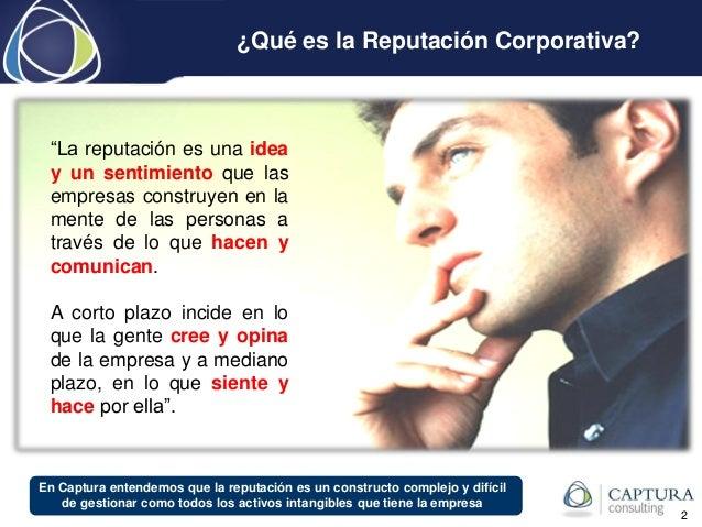 Ranking de Reputación Corporativa en Bolivia 2011-2014  por Captura Consulting Slide 2