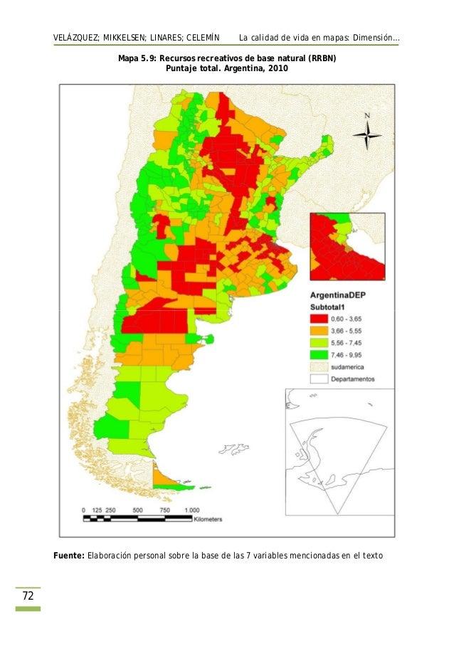 calidad de vida en argentina  ranking del bienestar por