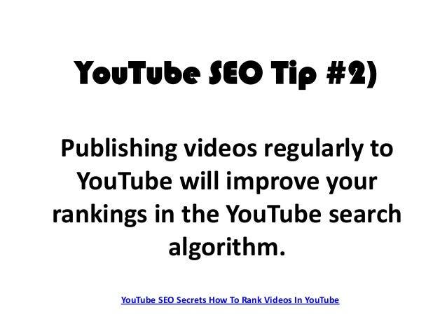 Youtube seo secrets 10 tips to rank your video on youtube youtube malvernweather Gallery