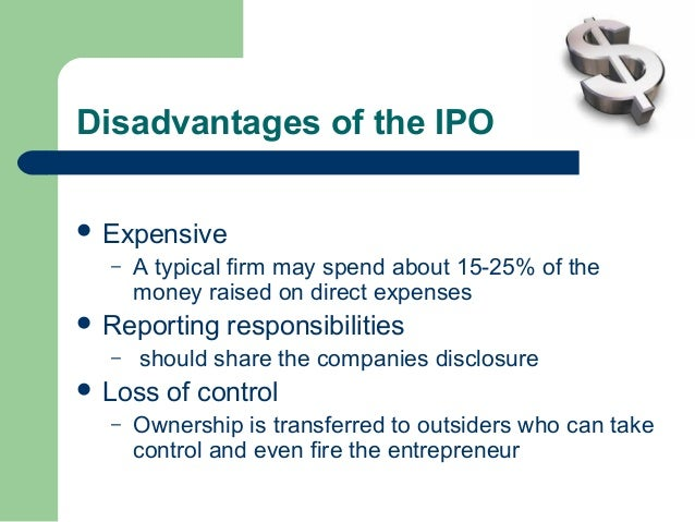 ownership dispersion costly information and ipo Perspectives the cost of information and underwriter-institutional investors  collusion the first  ownership dispersion, costly information, and ipo  underpricing.