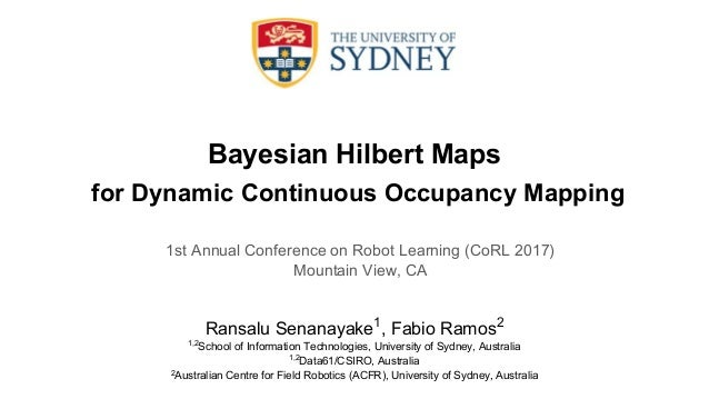 Bayesian Hilbert Maps for Dynamic Continuous Occupancy Mapping