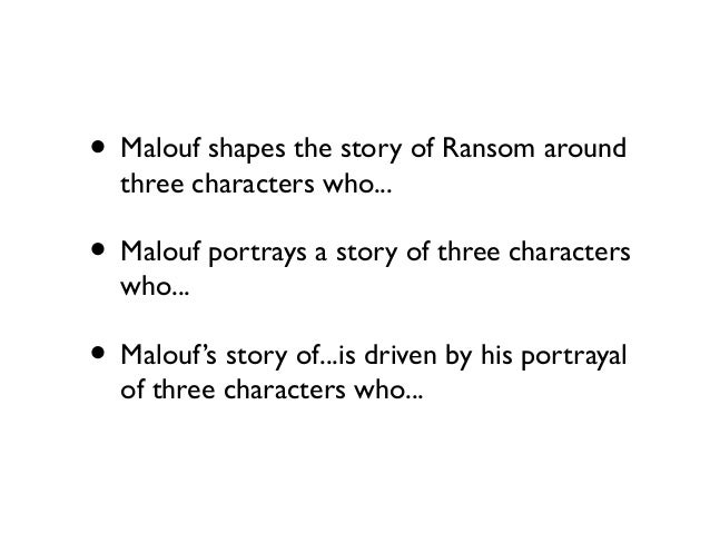 ransom malouf Ransom is a tour de force, incandescent in its delicate and powerful lyricism and in its unstated imperative to imagine our lives in light of fellow feeling  - the australian  - the australian.