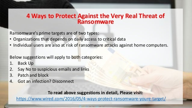 Ransomware And Tips To Prevent Ransomware Attacks