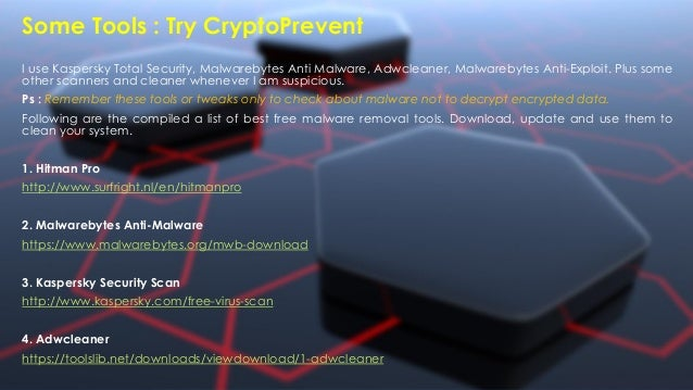 Ransomware Tips