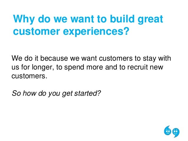 how to build a great customer experience 2