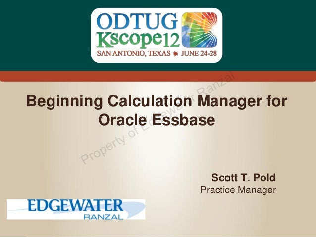 z al                       an                     rR                     ateBeginning Calculation Manager for        Oracl...