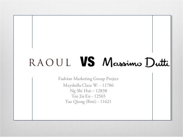 massimo dutti marketing analysis Massimo dutti promo codes for july 2018 save 50% w/ 2 active massimo dutti sales today's best massimodutticom coupon: save up to 50% off sale items at massimo dutti.
