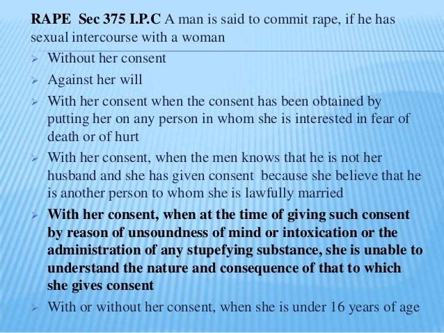 definition of rape in ipc