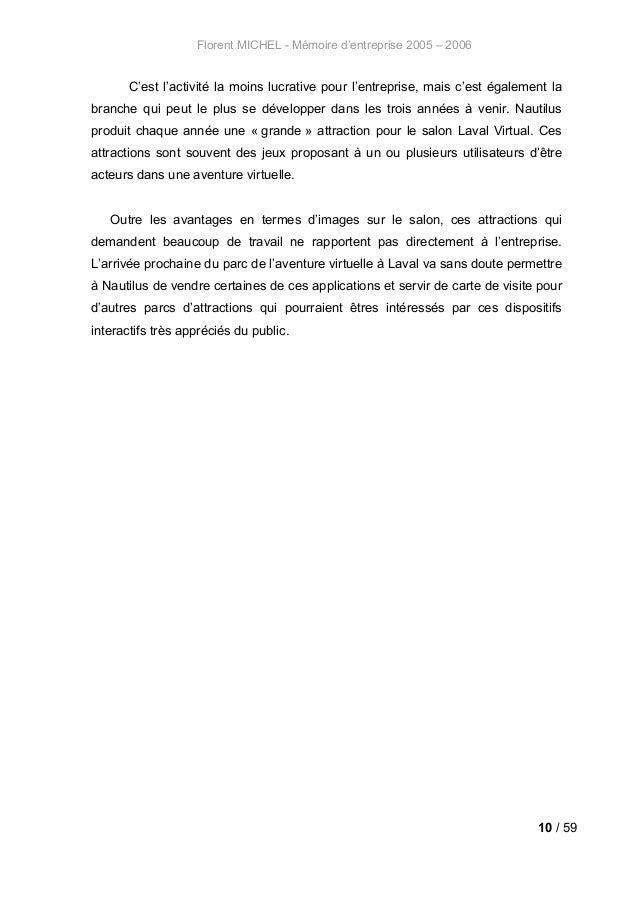 Archive Laval 2006 Rapport De Stage Master