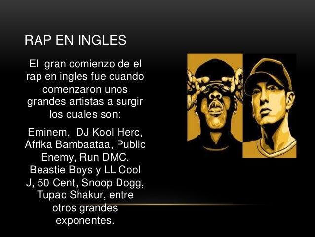 4. RAP EN ESPAÑOL El hip hop ...