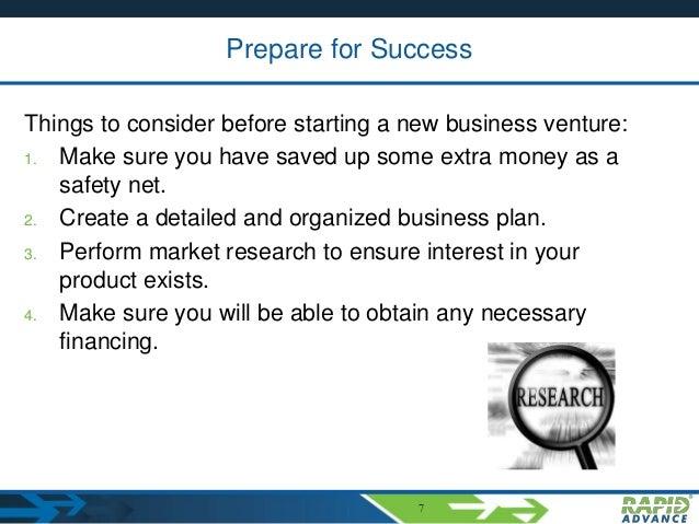 How do you write a business plan?