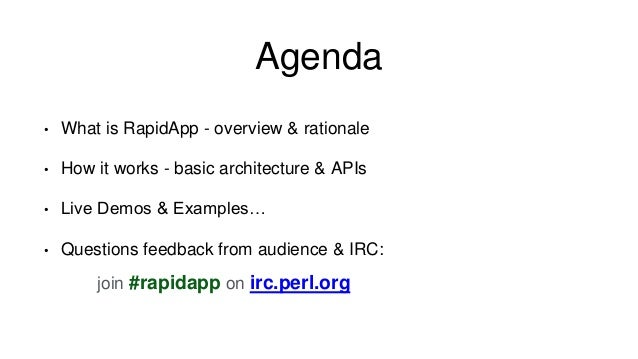 RapidApp - YAPC::NA 2014 Slide 2