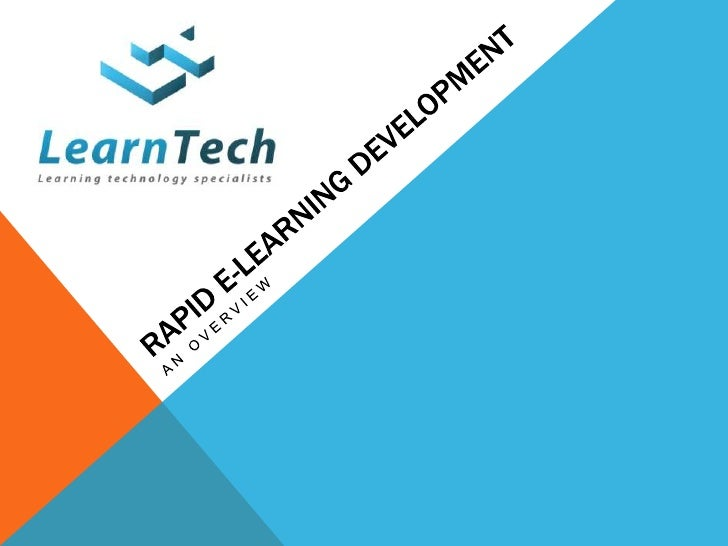 WHY E-LEARNING?•E is far more cost effective than classroom training.•E is easily accessible 24 hours a day from anywhere ...