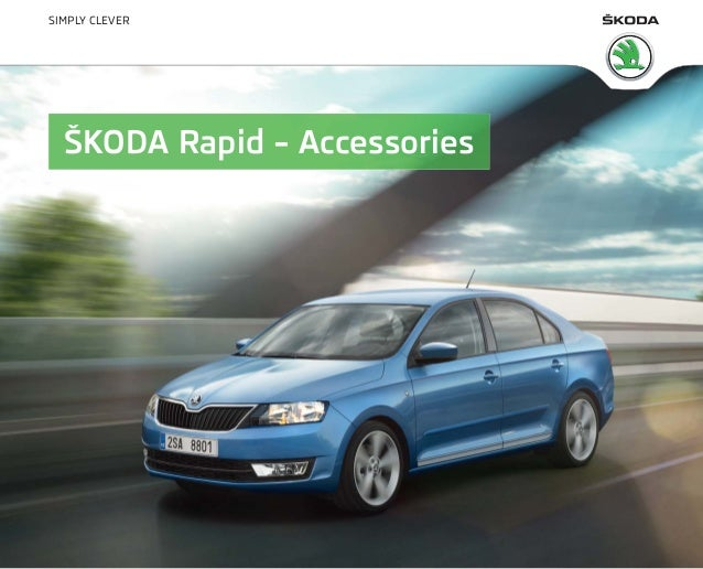 SIMPLY CLEVER  ŠKODA Rapid – Accessories