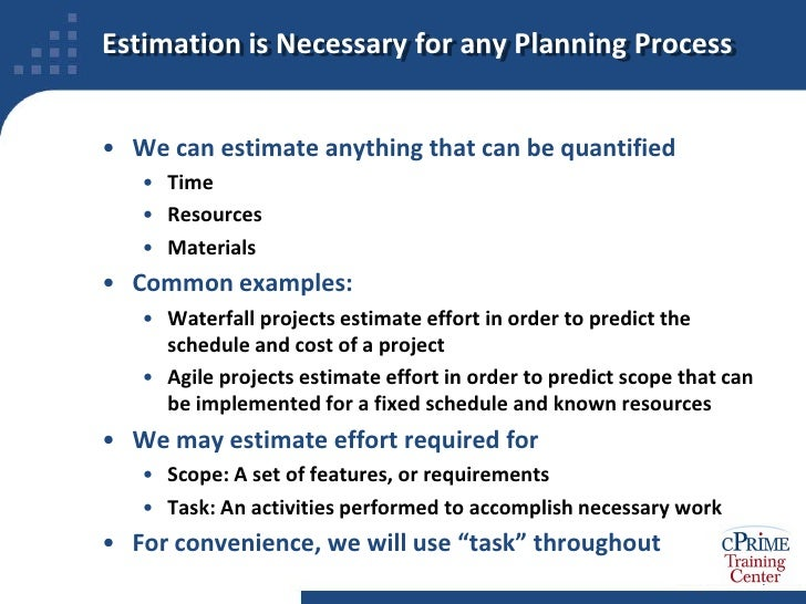 methods for estimating task duration and its accuracy But first, let's define the role of the estimates in the software development life  cycle  and detailed project requirements, it's impossible to make any accurate  guess  seeking a compromise: estimation methods and tools 1  document  with the detailed breakdown of the scope of work and estimated duration of each  task.