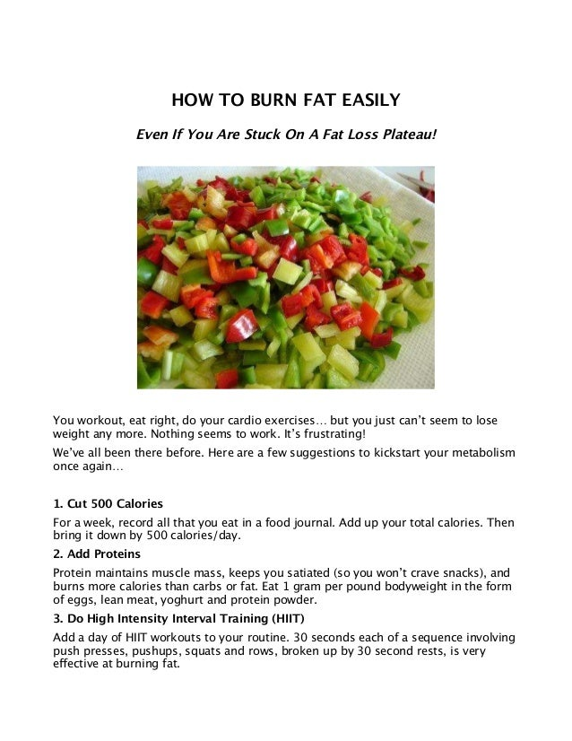 Weight loss trial qld