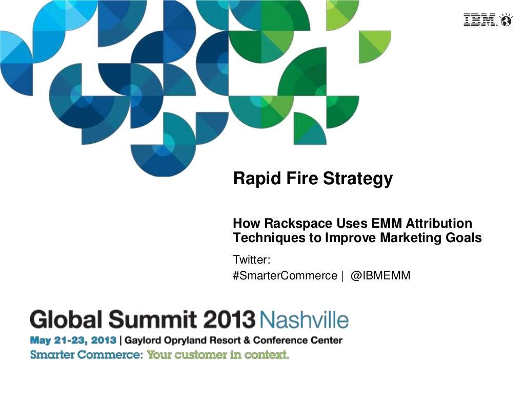 Rapid Fire Analytics Attribution Strategy
