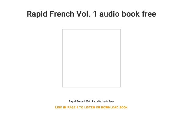 Rapid French Vol. 1 (with Audio)