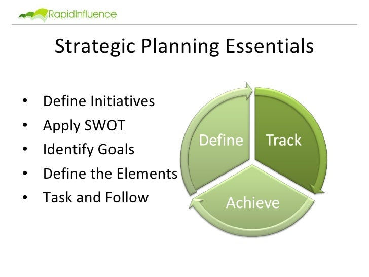 tqm statement and strategic planning