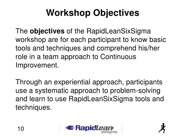 Lean Mfg Workshop Participant Workbook