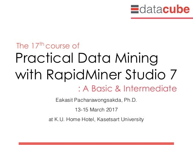 Practical Data Mining 