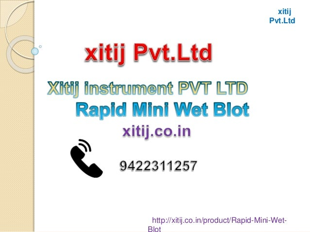 xitij Pvt.Ltd http://xitij.co.in/product/Rapid-Mini-Wet-