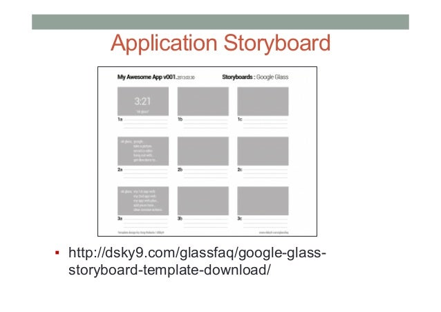 App Storyboard Template Choice Image Template Design Free Download