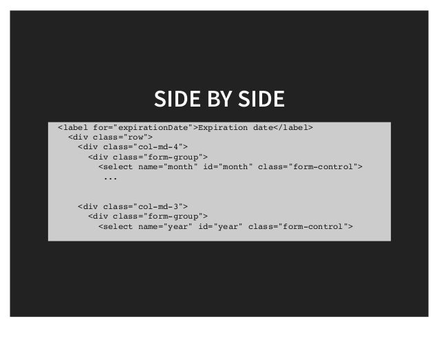 Rapid html prototyping with bootstrap chris griffith - Div class footer bootstrap ...