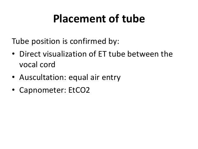POST INTUBATION CARE • ECG • SPO2 • NIBP/Art-line • Capnograph • Naso/Orogastric tube • CXR • ABG Post intubation • Mainta...