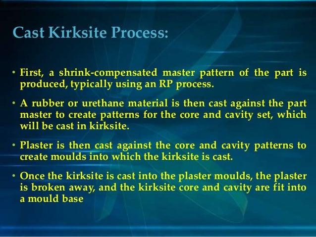 CAST KIRKSITE TOOLING PDF DOWNLOAD