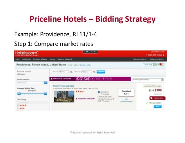The Bidding Traveler Priceline bidding help and tools. If you're bidding for travel, we'll tell you what to bid for hotels, winning bids, hotel lists, even rejected bids!