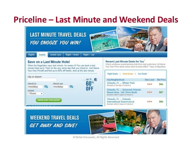 Rapid Travel Chai: Hotwire and Priceline at FTU DCA 2014