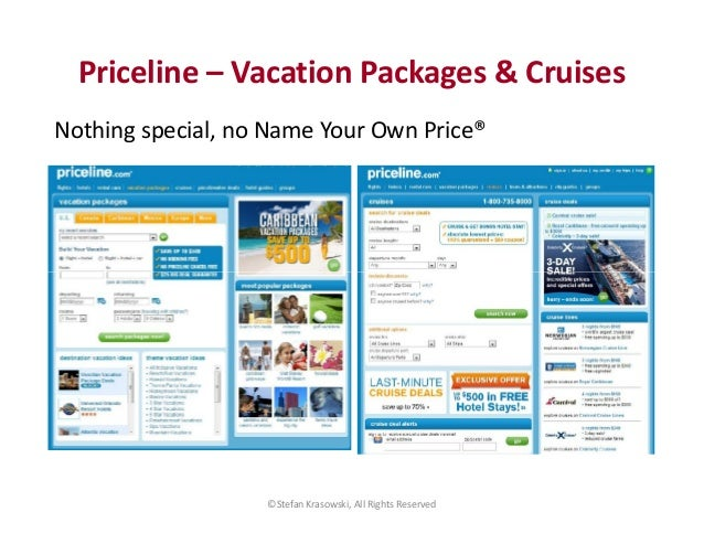 The Priceline rates may change every day, or they may remain the same for weeks or months at a time. If you bid exactly at Priceline's price, the hotel gets its Priceline rate; Priceline gets its transaction fee; you get your room, flight, or car; and everybody walks away somewhat happy.