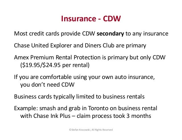 Using Your Own Insurance For Rental Cars