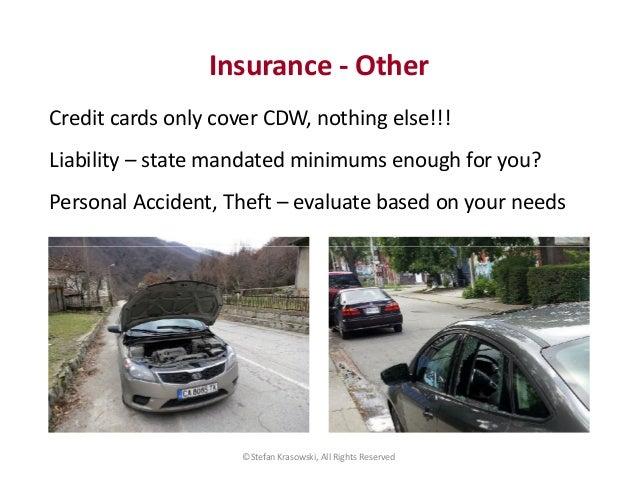 Premium Rental Car Protection Program