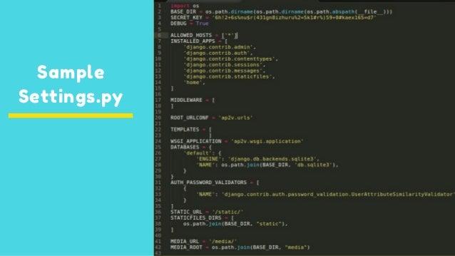 Rapid web application development using django - Part (1)